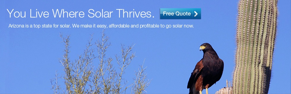 You live where solar thrives.