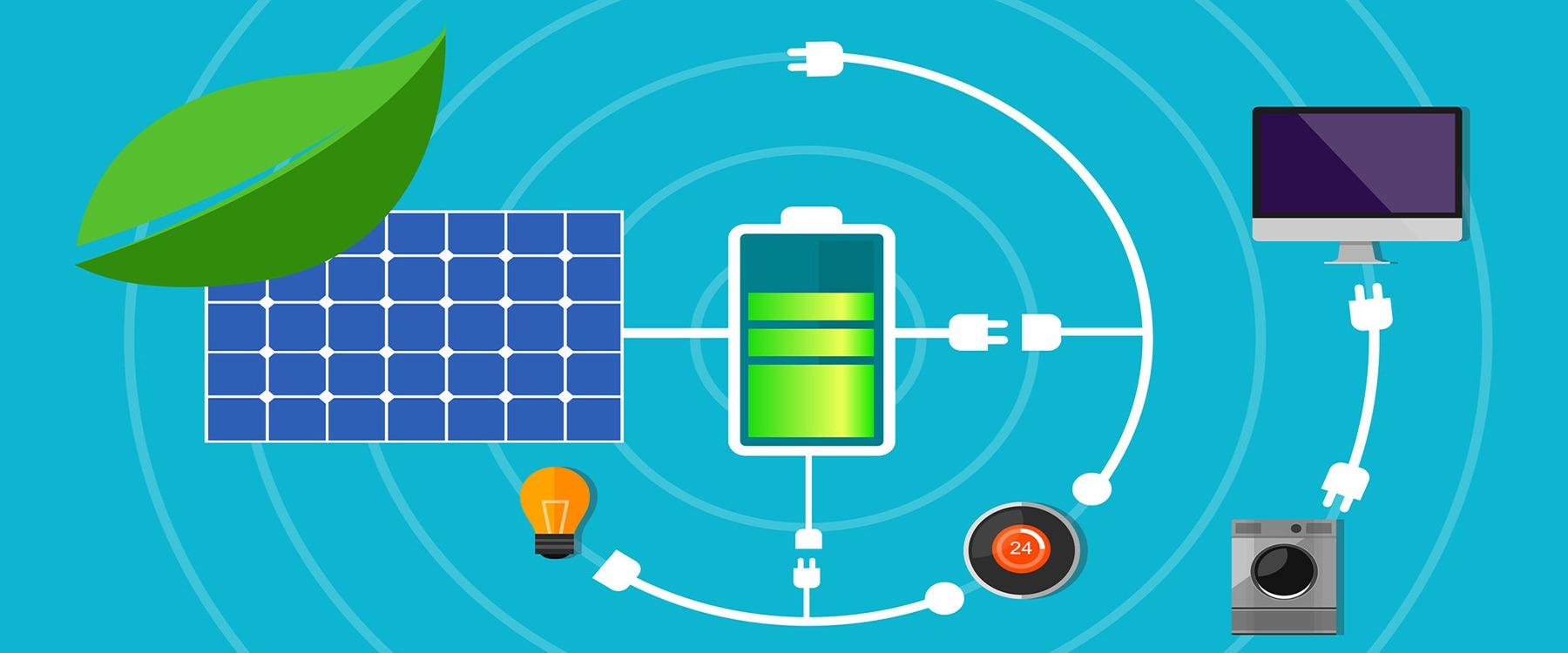solar panel battery pack home green technology