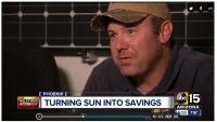 Corey Garrison - ABC 15 video on solar panels