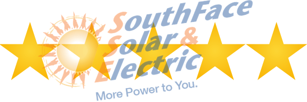 5 star reviews for Southface solar