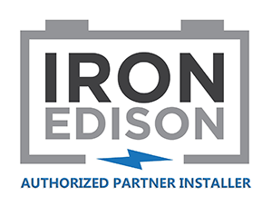 Iron Edison - Logo for Authorized Partner Installers