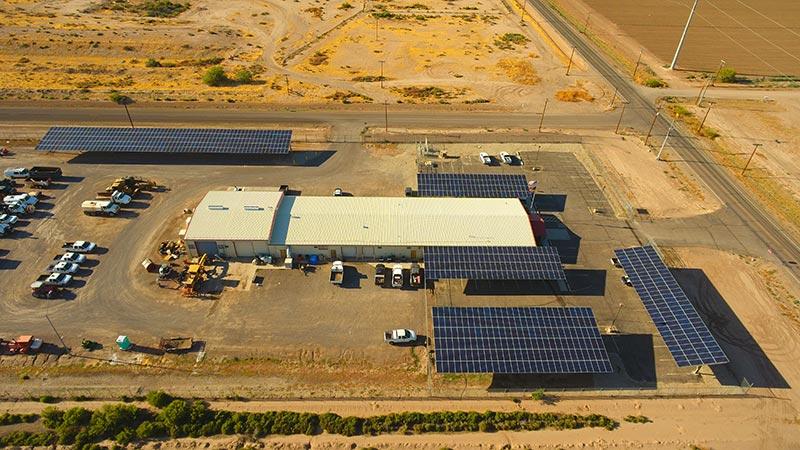 Commercial Solar Job in Eloy