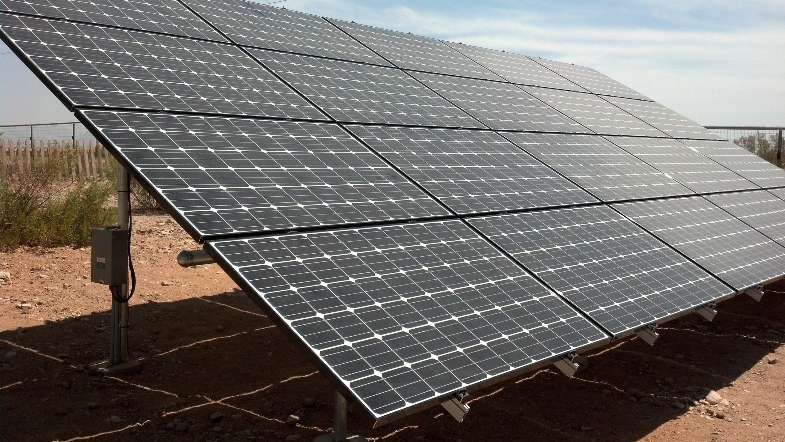 Queen Creek Solar Panel Ground Mount