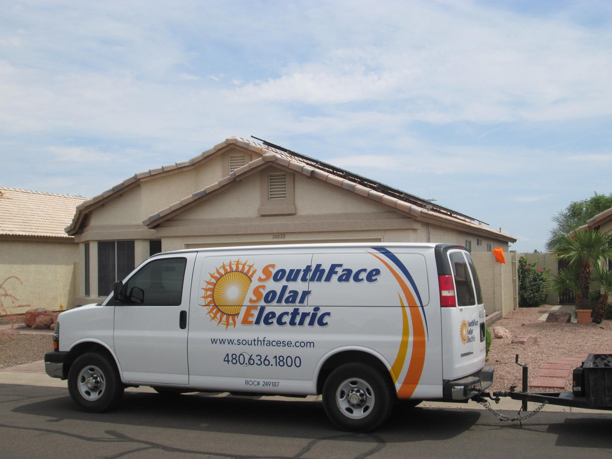 SouthFace Solar Truck